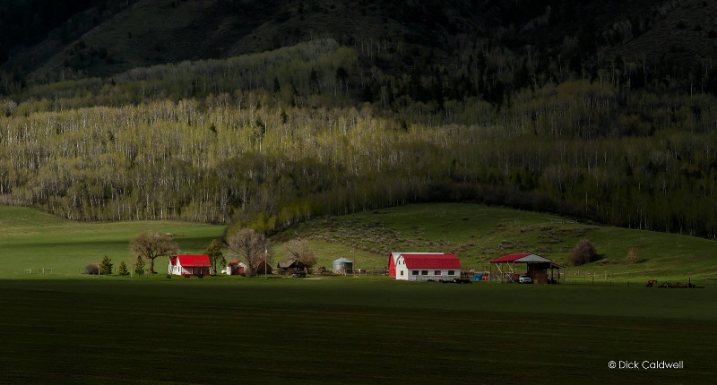 The old western farm