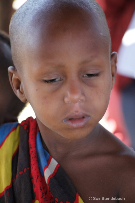Young Masai Student