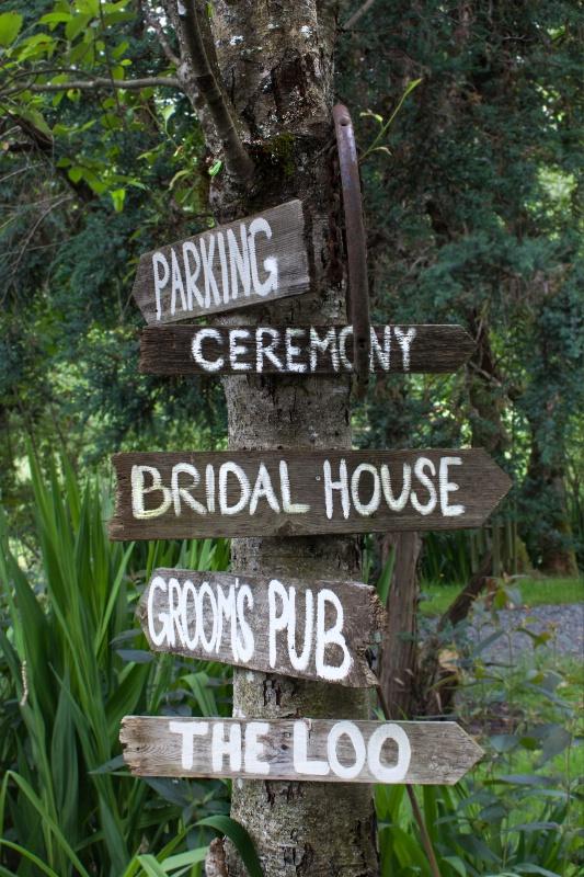 Ceremony Signpost