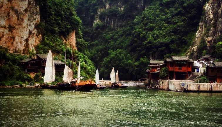 Village Along the Yangtze