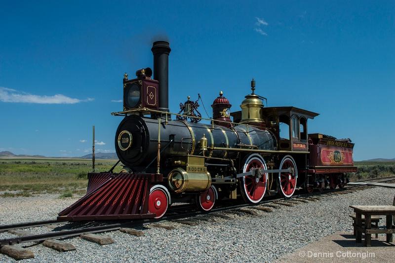 Locomotive 119 Union Pacific RR  Promontory Point