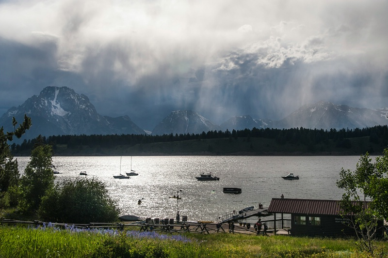 Storm Over Jackson Lake
