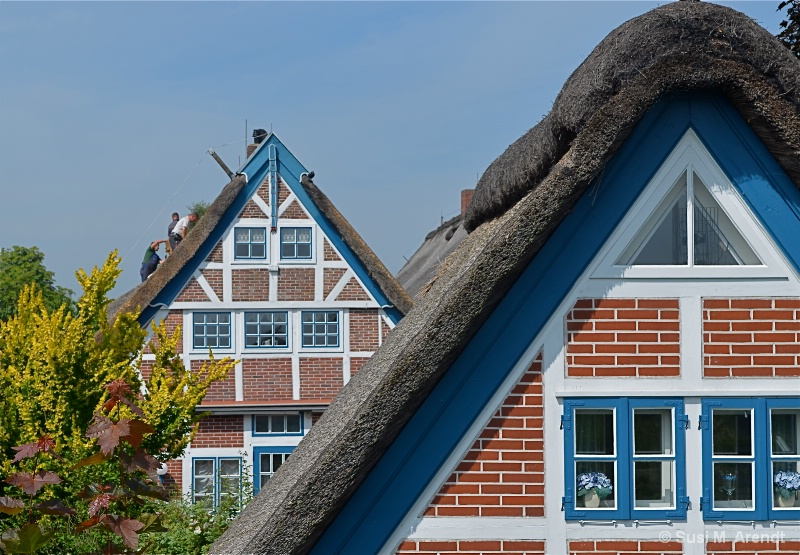 Rooftops in the Old Country (im Alten Land)
