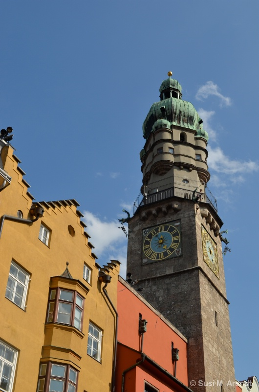 Innsbruck Roof and Church