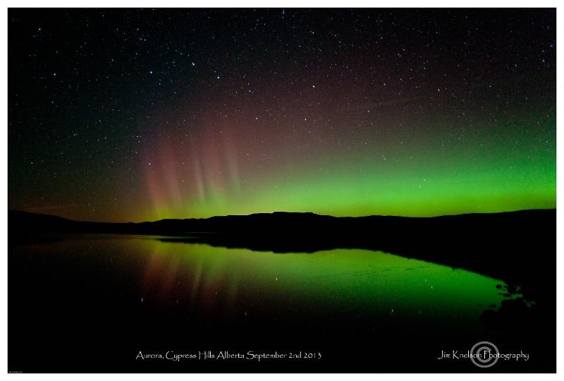 Aurora, Cypress Hills Alberta, September 2nd 2013