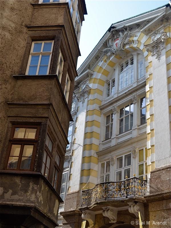 Kissing Buildings--Innsbruck