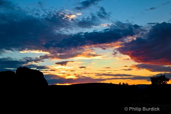 hartman rock sunset