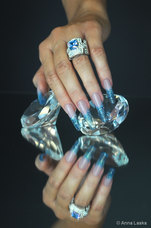 Russian style nails
