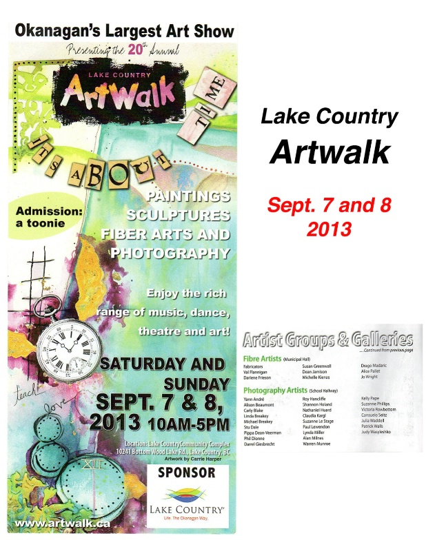 Artwalk 2013