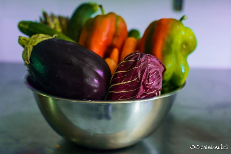 Veggies for delicious Italian food