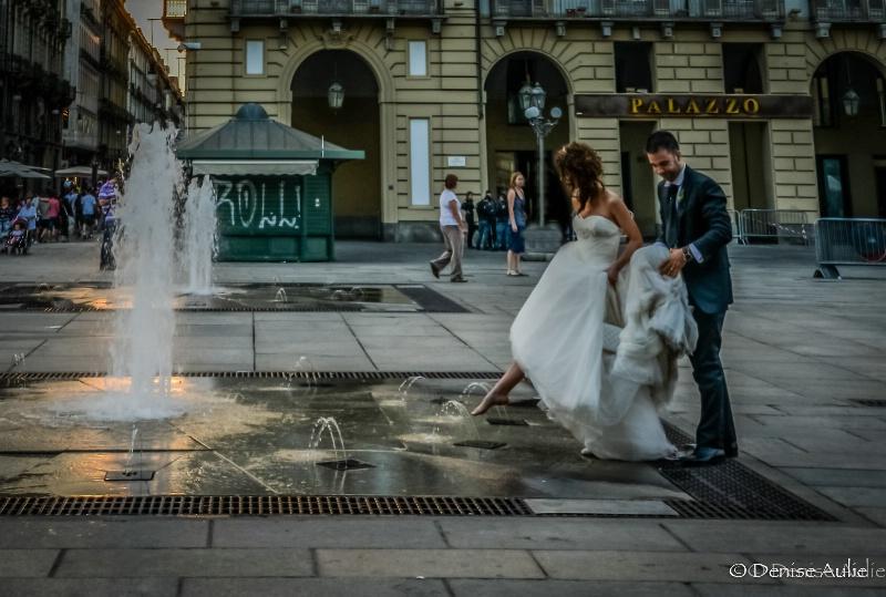 Tip-Toeing Piazza Castello