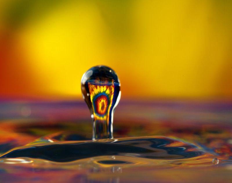 A Drop of Tie Dye