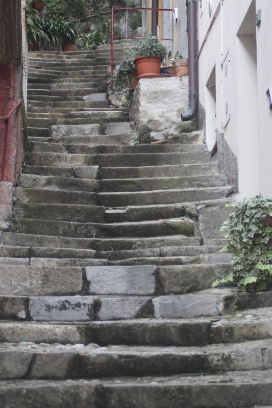 Steps in Varenna
