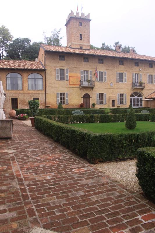 Part of the castello di Rozzano