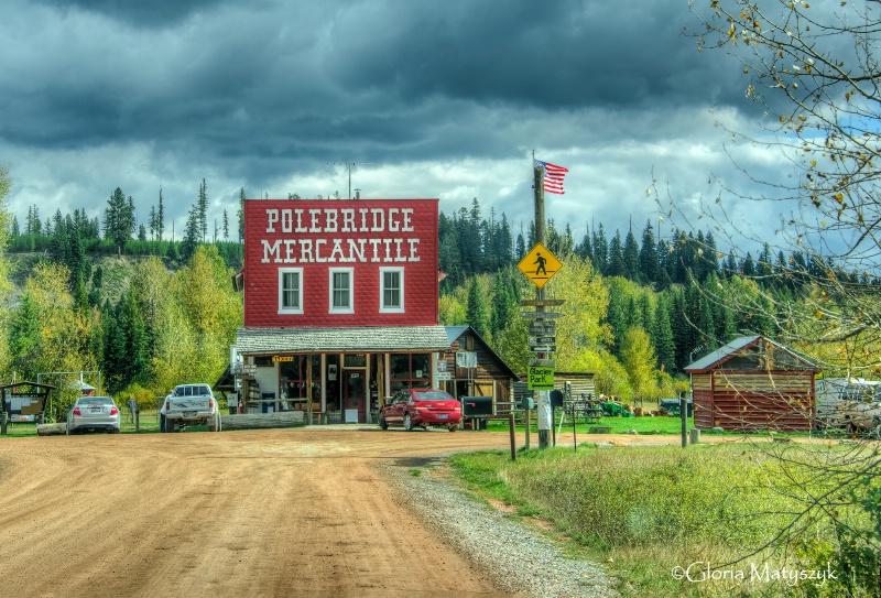 Polebridge Mercantile, Polebridge, MT