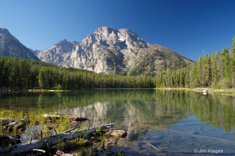 Leigh Lake and Mount Moran