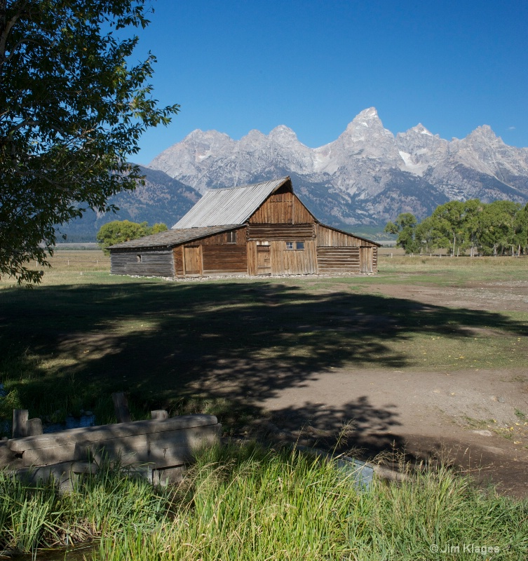 Barn Along Mormon Row