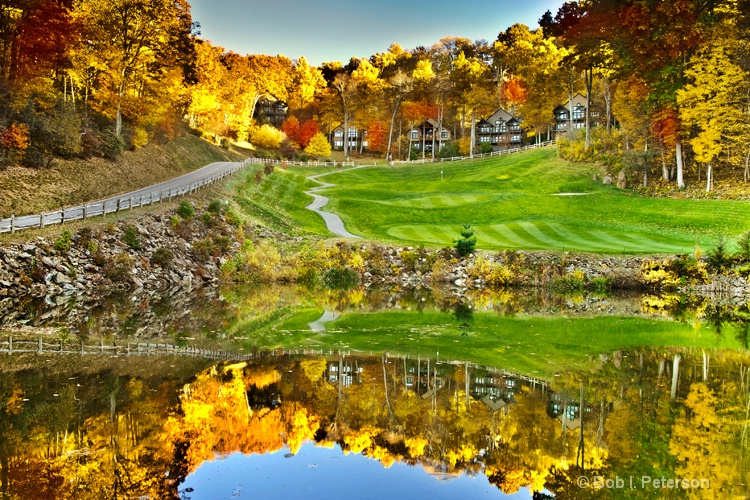 Fall beauty on the course