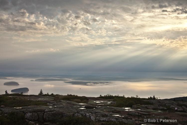 Sunrise, Cadillac Mtn, Acadia Park, Maine