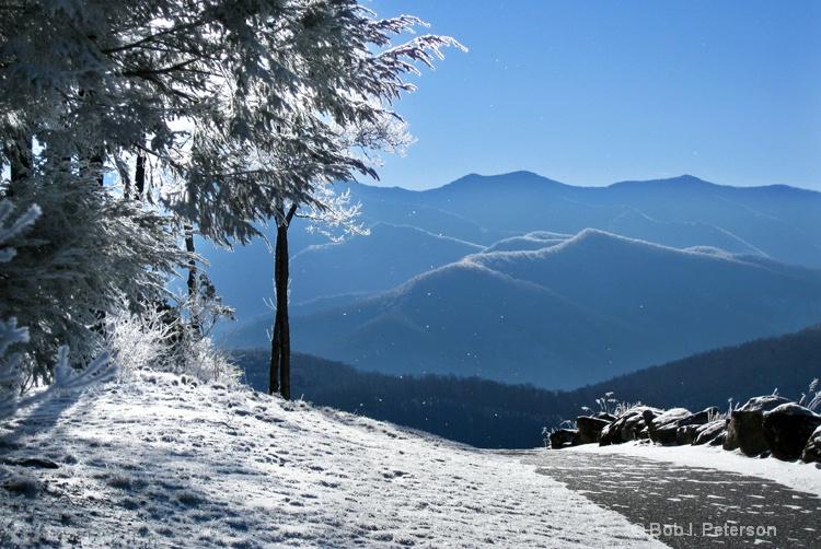 cold morning walk