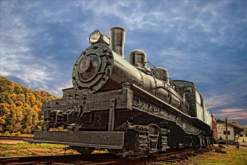 Cass Steam Locomotive