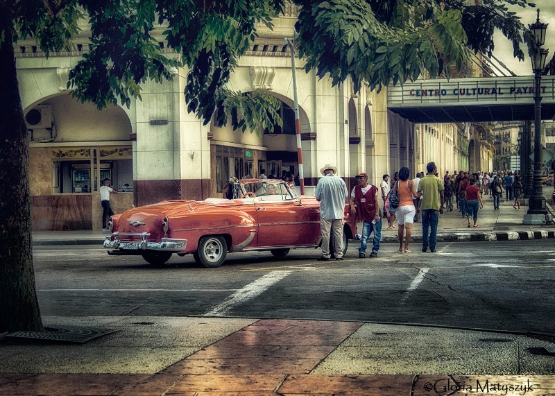 Early 1950's Chevrolet;  Havana, Cuba
