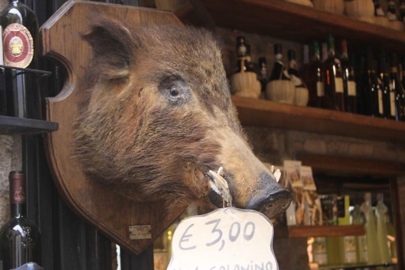 More boar salami - 3 Euros