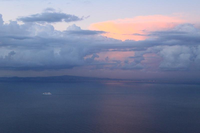 Final night sunset