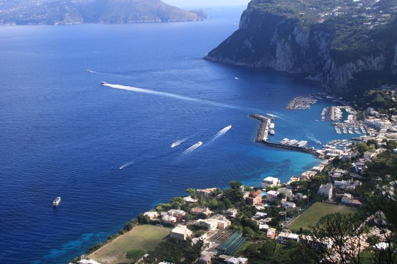 Harbor on Capri