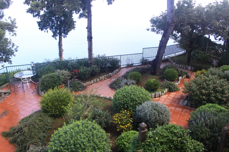 just one of the hotel gardens