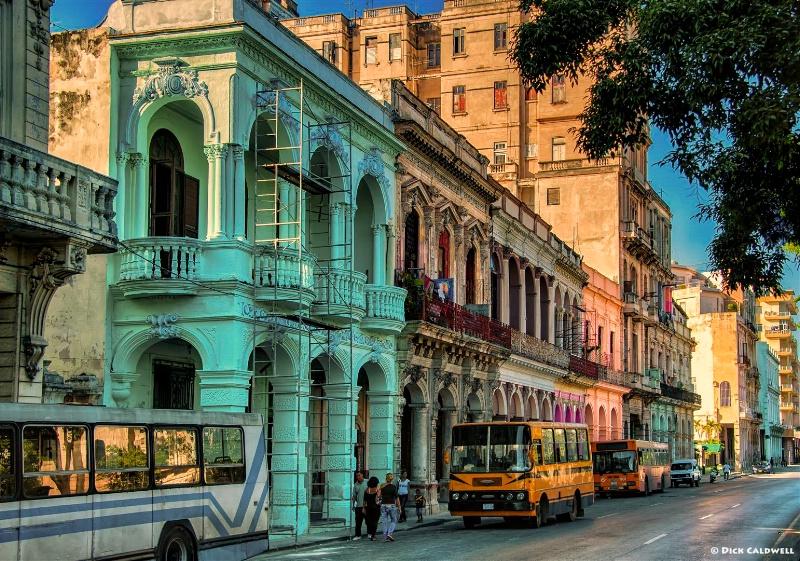 Cuba Street Scene, Old Havana, Cuba