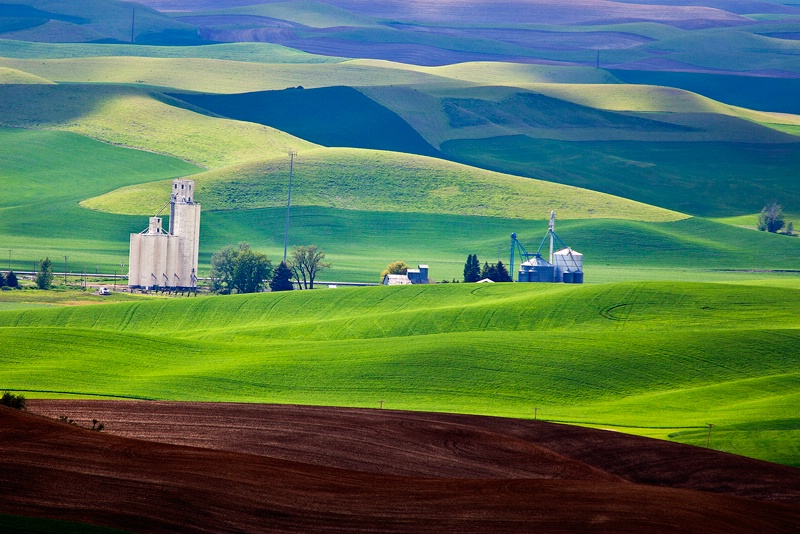Steptoe Butte view, Washington
