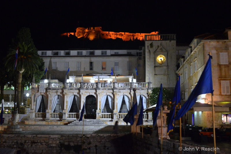 THE CASTLE AND THE PALACE, HVAR, CROATIA
