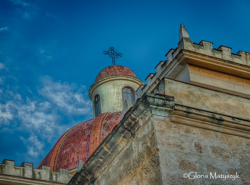 Church dome, Havana, Cuba