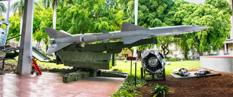 Missle at the Revolution Museum, Havana, Cuba