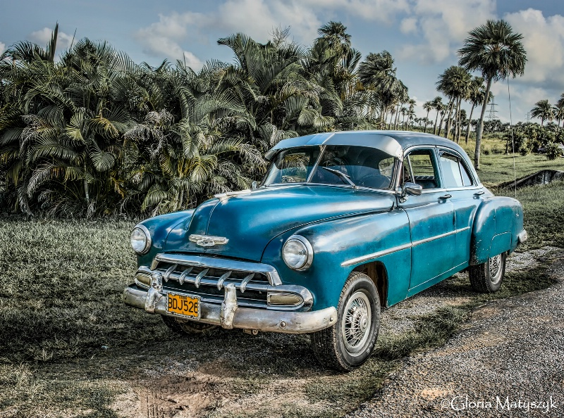 Old Chrysler near Havana, Cuba