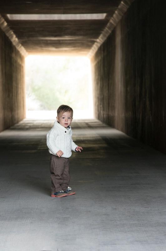 Drew in Tunnel