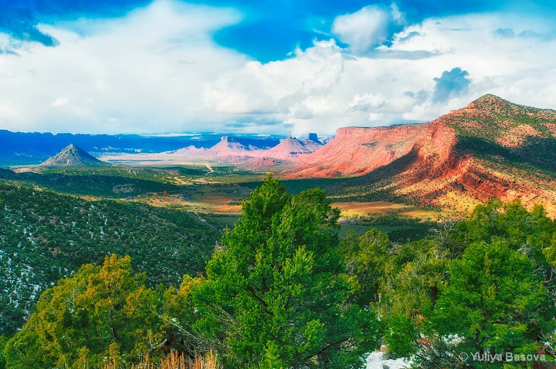 Red Cliff Canyon and the La Sal Loop trip, Utah