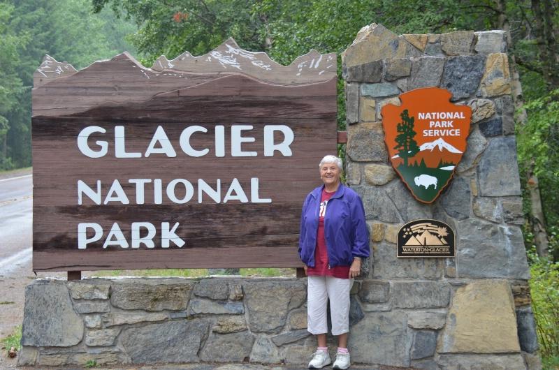 Glacier West Side Entrance