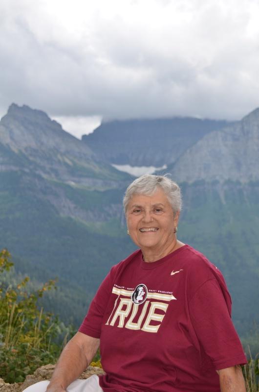Solo Shirley at Glacier