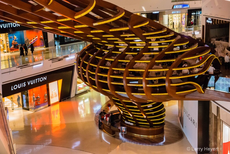 Aria Hotel in Las Vegas- The Shops at Crystals