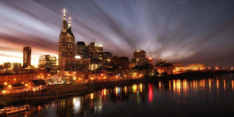 Night Falls on Nashville