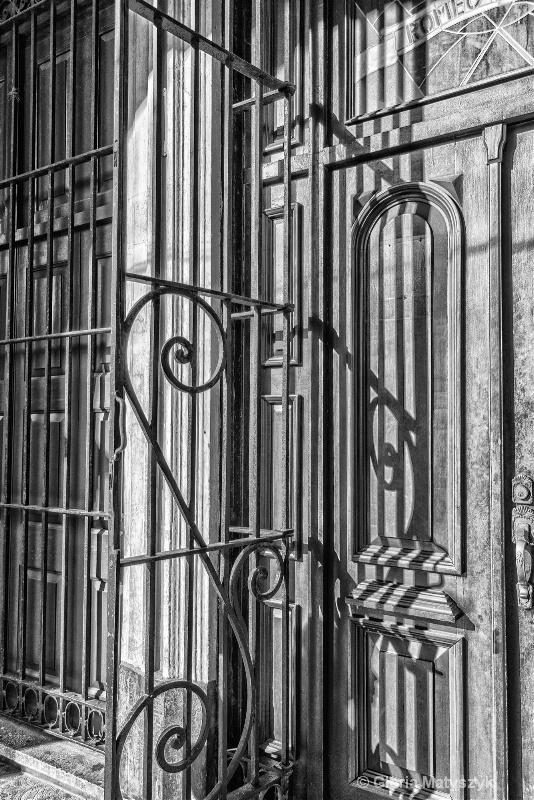 Decorative ironwork, Havana, Cuba