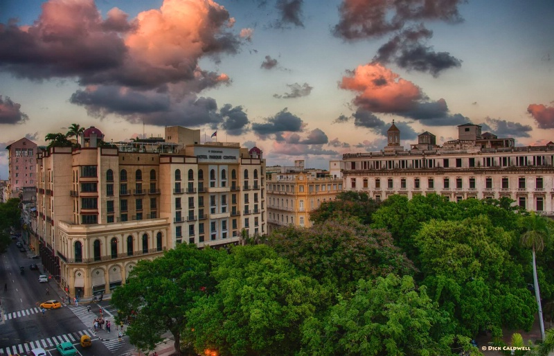 Havana at sunset