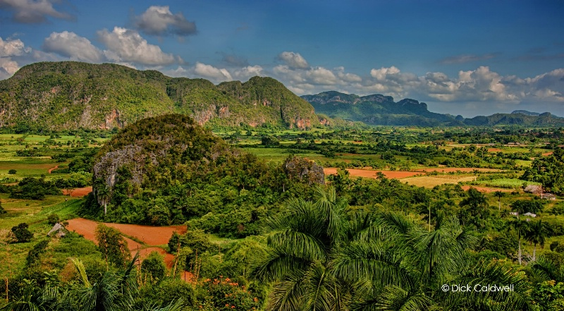 Vinales, the green and lush valley, Cuba