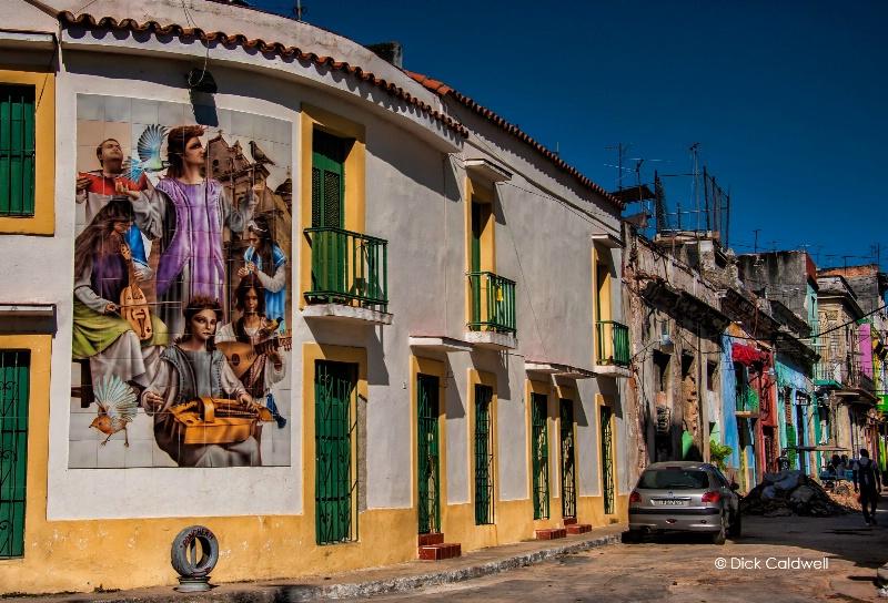 St. Cecelia mural in Havana