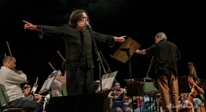 Augusto Enriquez and Maestro Enrique Perez-Mesa