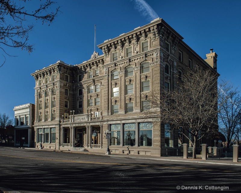 Hotel Vail in downtown Pueblo, Colorado