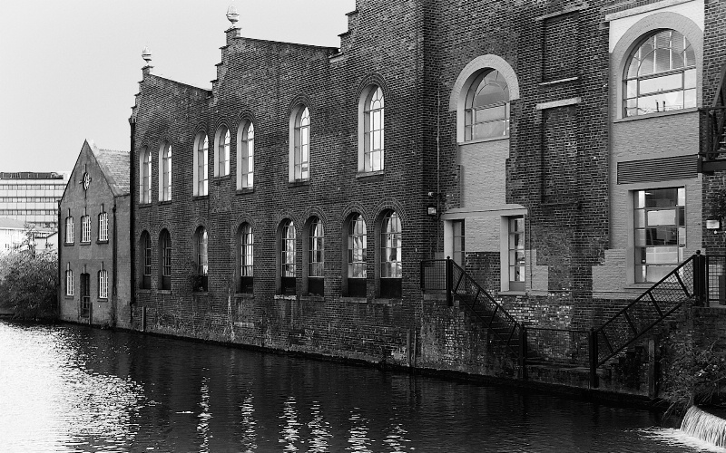 Old Warehouses by the Canal