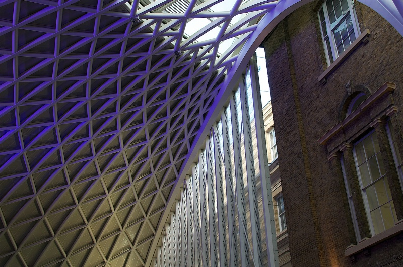 Structure at Kings Cross Station